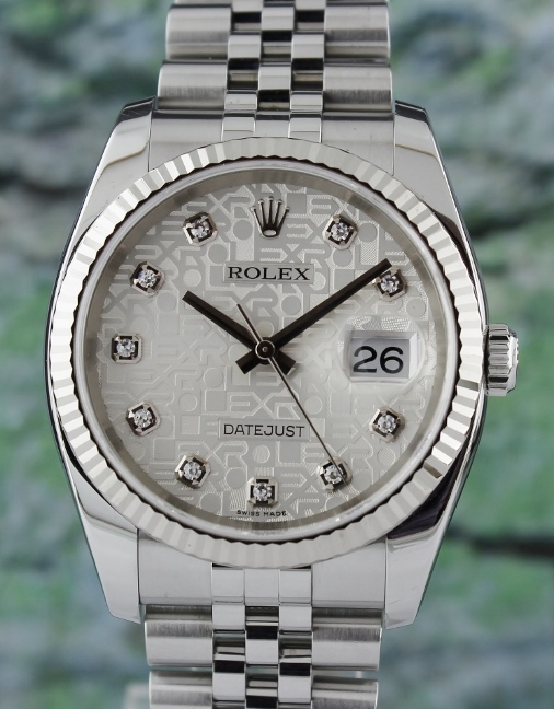 LIKE NEW ROLEX MEN SIZE OYSTER PERPETUAL DATEJUST - 116234
