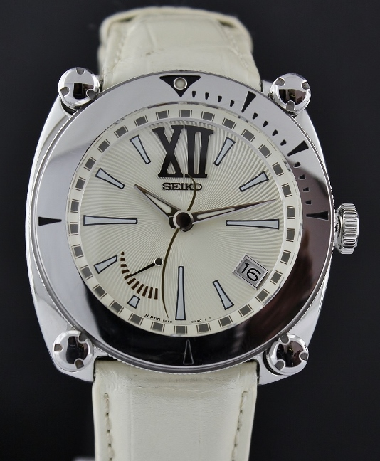 SEIKO GALANTE STAINLESS STEEL AUTOMATIC WATCH / SBLA039