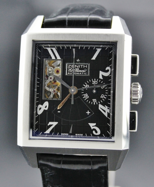 ZENITH PORT ROYAL OPEN CHRONOGRAPH WATCH