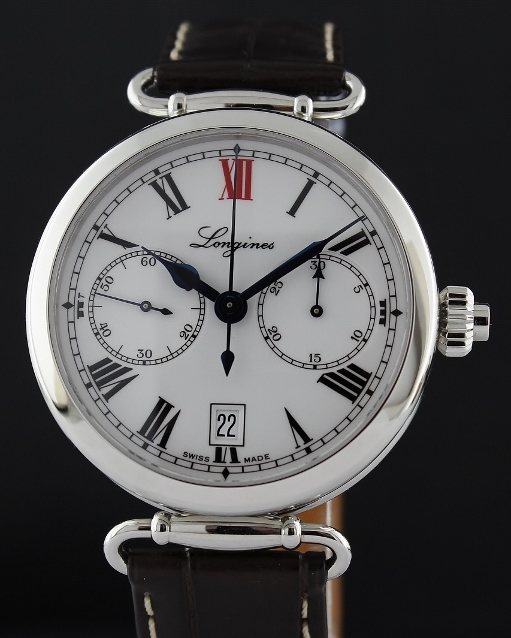99.9% LIKE NEW Longines Heritage 180th Anniversary Automatic Watch / L27764213