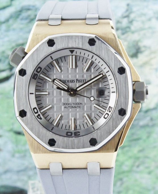 Unpolished Mint Audemars Piguet Offshore Diver Limited Edition / 15711OI.OO.A006CA.01