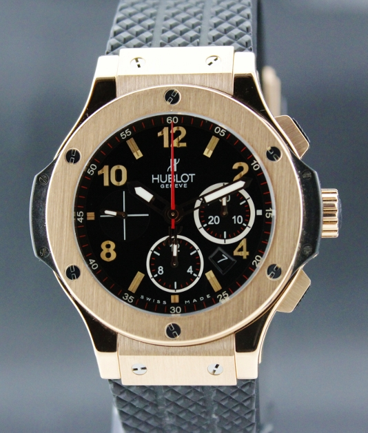 "HUBLOT BIG BAND 18K ""PINK GOLD"" AUTOMATIC CHRONOGRAPH"