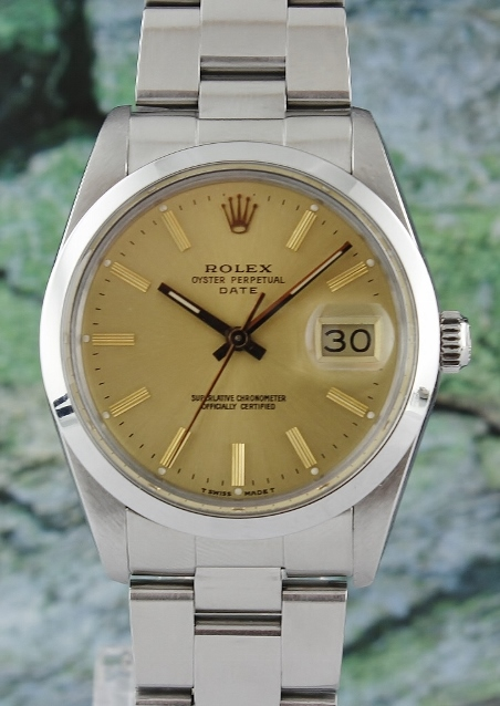 1a5236457c3 ROLEX MEN STAINLESS STEEL AUTOMATIC OYSTER PERPETUAL DATEJUST   15000  (Rolex Men Size)