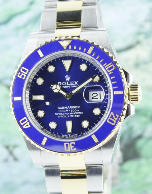 UNWORN ROLEX OYSTER PERPETUAL DATE SUBMARINER 2020 MODEL / 126613 LB