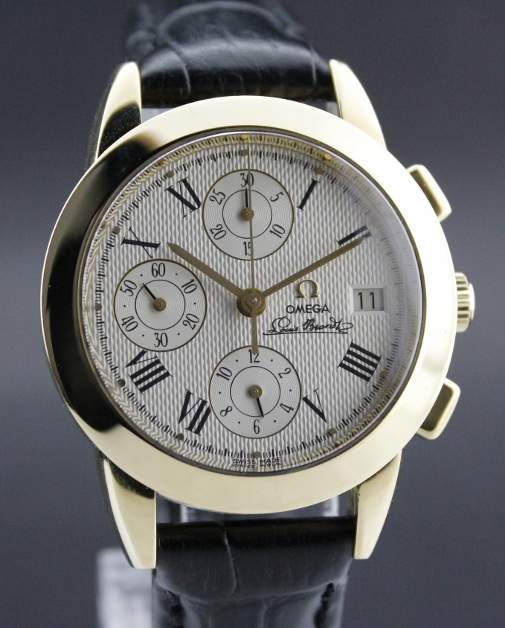 """RARE"" OMEGA 1991 Louis Brandt II Collection Chronograph"