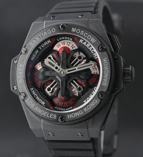 Brand New Hublot King Power Unico GMT Watch / 24 time zones