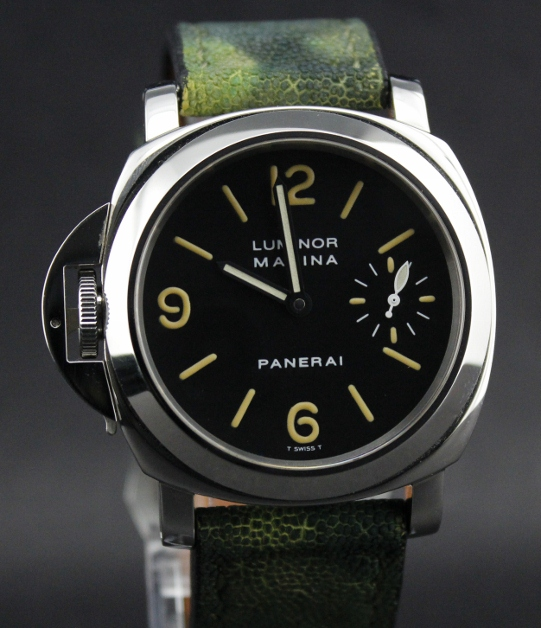 "A VERY RARE PANERAI PAM22 DESTRO WITH T DIAL ""A SERIES"""