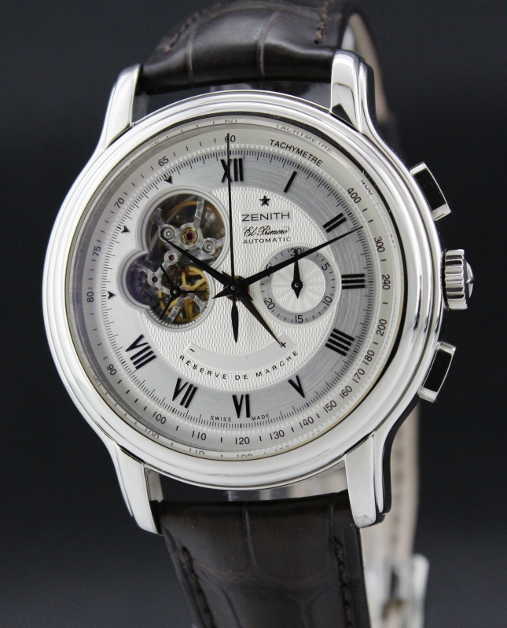 Zenith El Primero OPEN Chronomaster XXT Reserve de March Automatic Steel