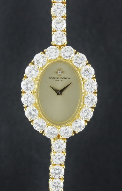 RARE & FINE 100% ORIGINAL VC LADY MANUAL WINDING DIAMOND WATCH