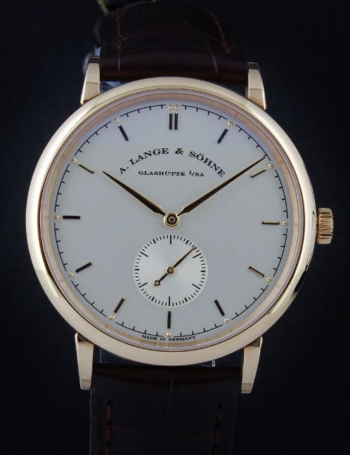 UNWORN A. Lange & Sohne 18K Pink Gold Manual Winding Saxonia / 216.032