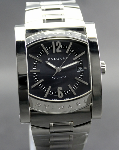 Bvlgari Assioma Automatic Stainless Steel Blue Dial 44mm
