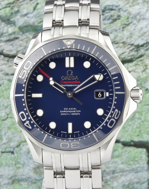 99% MINT CONDITION OMEGA SEA MASTER CO-AXIAL AUTOMATIC / 21230412003001