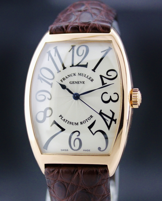 18K PINK GOLD FRANCK MULLER AUTOMATIC WATCH / 6850 SC