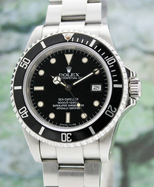 "RARE ROLEX TRANSITIONAL OYSTER PERPETUAL DATE - SEA DWELLER / 1""666""0"
