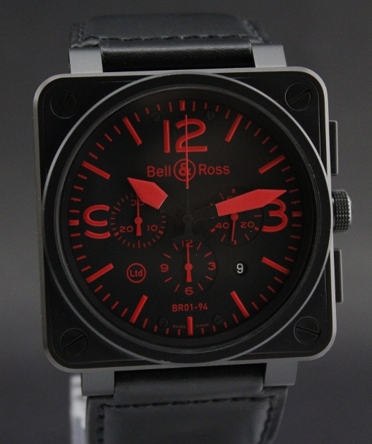 Bell & Ross BR 01-94 Chronograph Limited Edition in Red