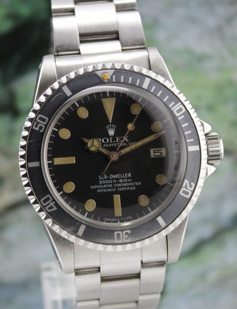 ROLEX VINTAGE OYSTER PERPETUAL DATE SEA-DWELLER 1665