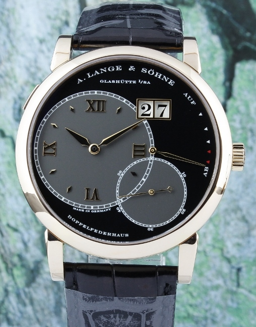A. Lange & Sohne 18K Rose Gold Grand Lange 1 / 115.031