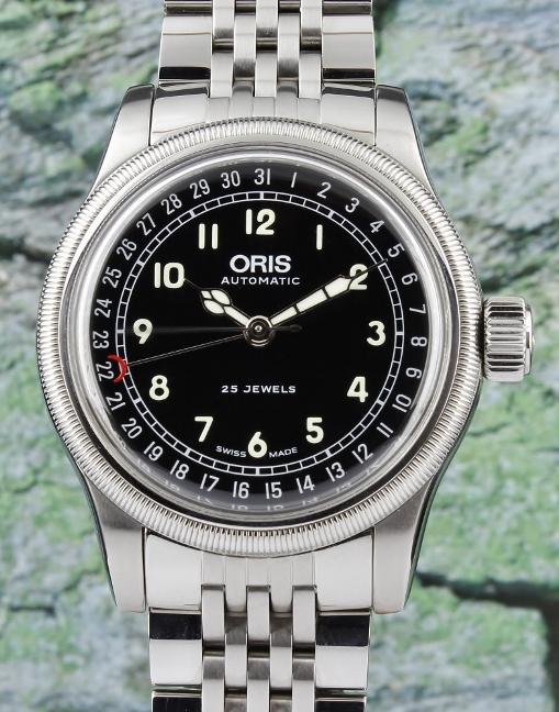 AN ORIS BIG CROWN STAINLESS STEEL AUTOMATIC WATCH