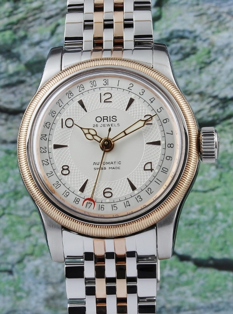 AN ORIS BIG CROWN AUTOMATIC WATCH