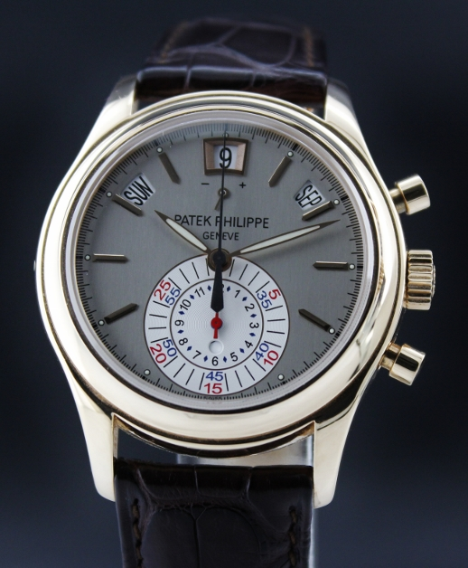 LIKE NEW PATEK PHILIPPE 5960R ANNUAL CALENDAR CHRONOGRAPH 18K ROSE GOLD AUTOMATIC WATCH