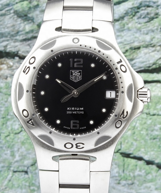 A TAG HEUER MEN SIZE STAINLESS STEEL KIRIUM / WL111D-0