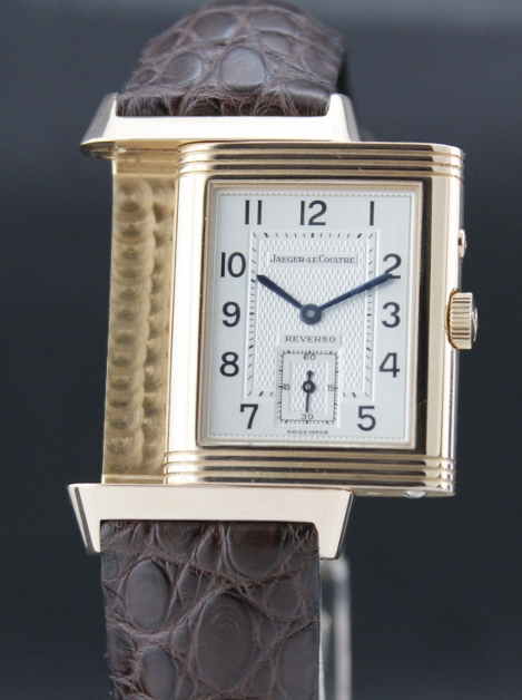 "A JAEGER-LECOULTRE REVERSO MANUAL WINDING ""PINK GOLD"""
