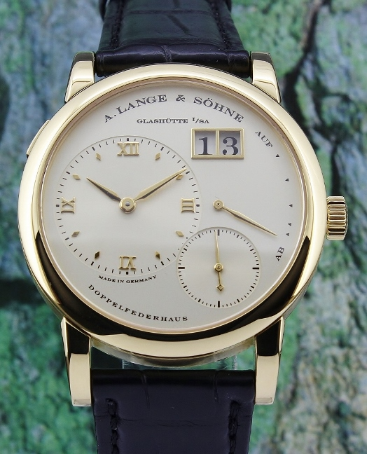 LIKE NEW A. Lange & Sohne Lange 1 Yellow Gold Manual Winding