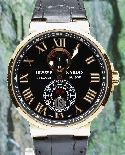 99.9% New Ulysse Nardin Maxi Marine Chronometer 43mm Mens Watch / 266-67