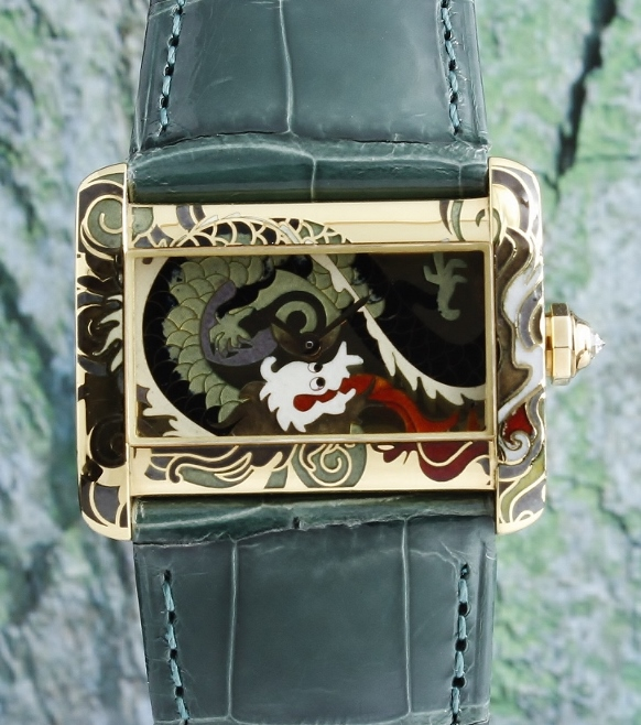 RARE 100% ORIGINAL CARTIER ENAMEL DIAL LIMITED EDITION 20 PIECES / 2601