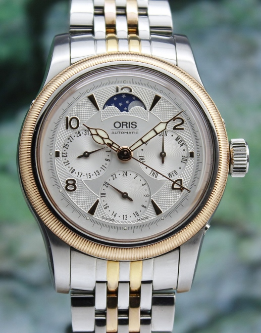 AN ORIS BIG CROWN COMPLICATION AUTOMATIC WATCH / 7566
