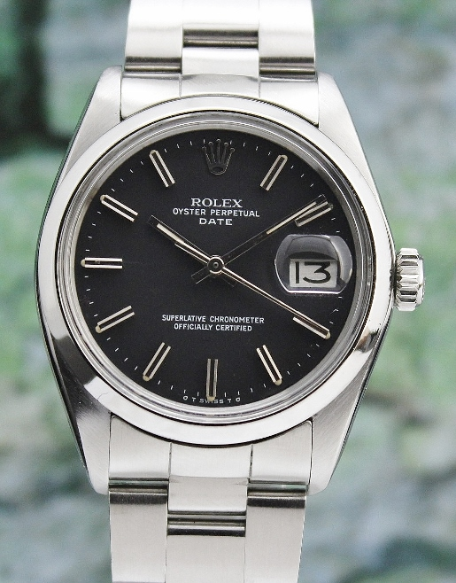 e2caff64820 ROLEX MEN STAINLESS STEEL AUTOMATIC OYSTER PERPETUAL   1500 (Rolex Men Size)
