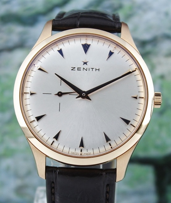 Zenith Heritage Ultra Thin 18K Rose Gold Automatic Watch / 18-2010-681-11-C498