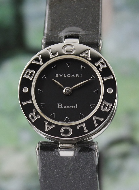 A BVLGARI STAINLESS STEEL B ZERO1 LADY WATCH