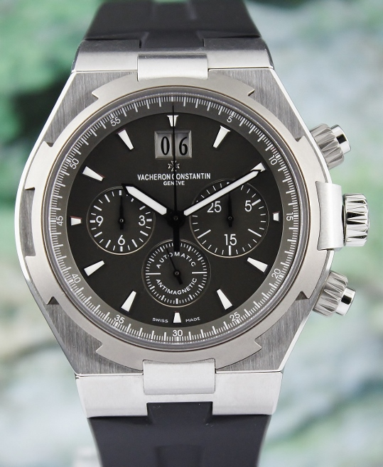 Like New Vacheron Constantin Overseas Chronograph Watch / 49150