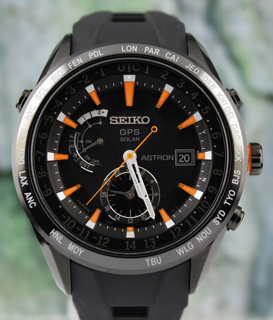 New Unworn Seiko Astron GPS Solar Watch / SAST025G