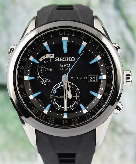 New Unworn Seiko Astron GPS Solar Watch / SAST009G