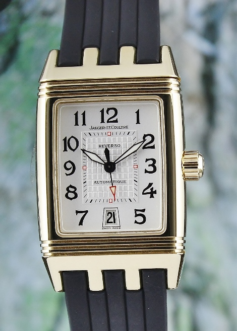 LIKE NEW Jaeger-LeCoultre Reverso 18K Yellow Gold Automatic Watch / 290.160