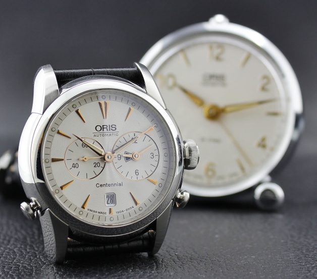 ORIS Centennial Set 1904 Limited Edition Worldtimer And Alarm-Clock