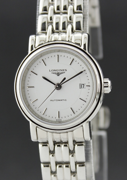 LONGINES LADY AUTOMATIC STAINLESS STEEL WATCH