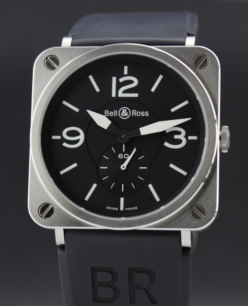 A STAINLESS STEEL BELL & ROSS / BRS-98-S-00716 - Click Image to Close