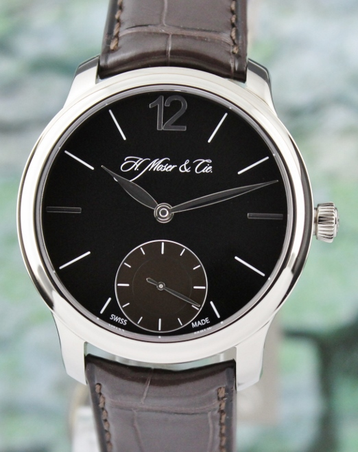 UNWORN H.MOSER & CIE 18K WHITE GOLD MANUAL WINDING WATCH