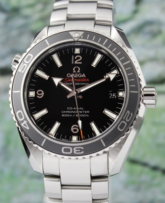OMEGA SEA MASTER PLANET OCEAN CO-AXIAL AUTOMATIC WATCH / 23230422101001