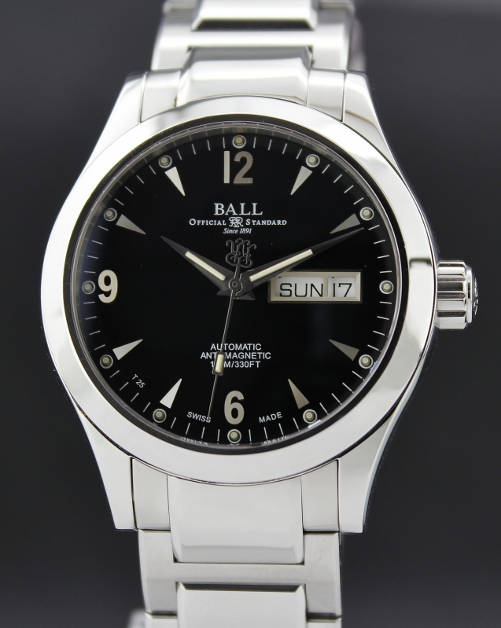 A Ball Engineer II Ohio Day/Date Automatic Watch / NM1020C