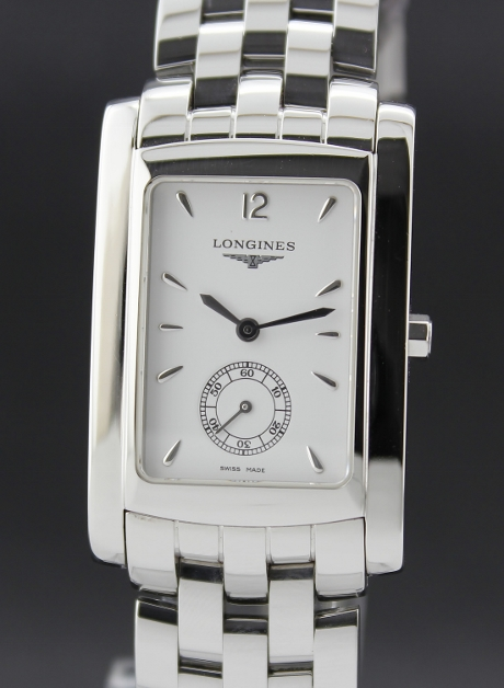 A LONGINES DOLCE VITA MEN STAINLESS STEEL WATCH