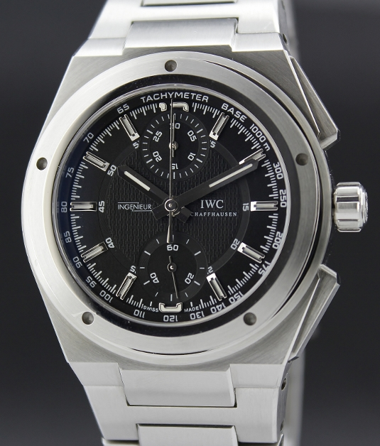 IWC INGENIEUR STAINLESS STEEL CHRONOGRAPH AUTOMATIC WATCH / IW372501