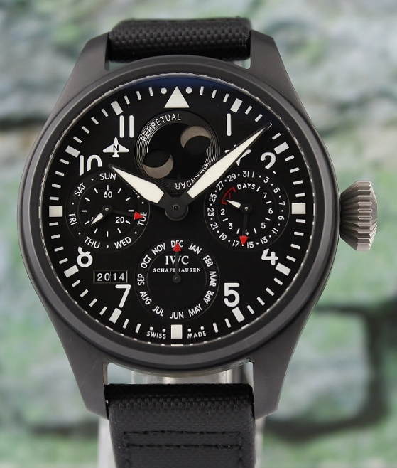 LIKE NEW IWC Big Pilot 48mm Top Gun Perpetual Calendar / IW502902