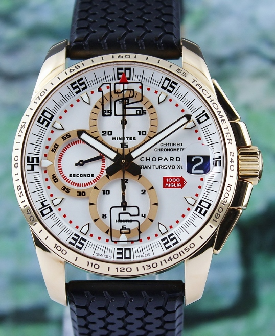 Chopard 18K Rose Gold Limited Edition Mille Miglia Gran Turismo XL