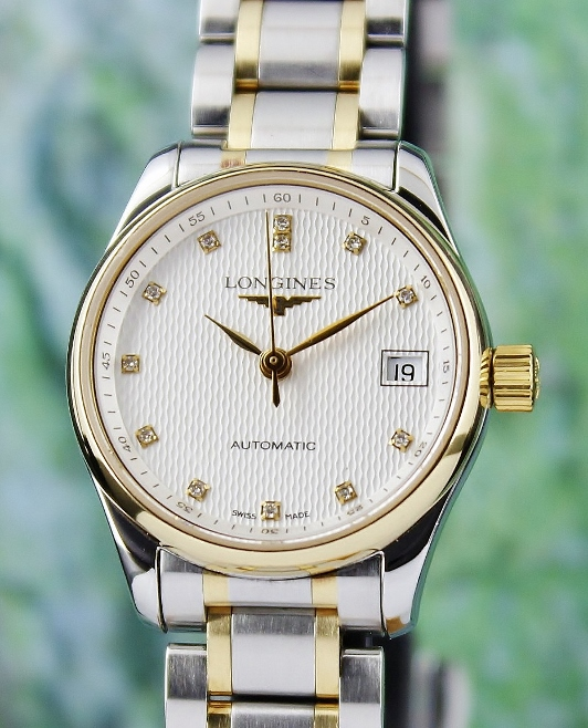 Longines Lady Size Steel & 18K Yellow Gold Automatic Watch / L21285