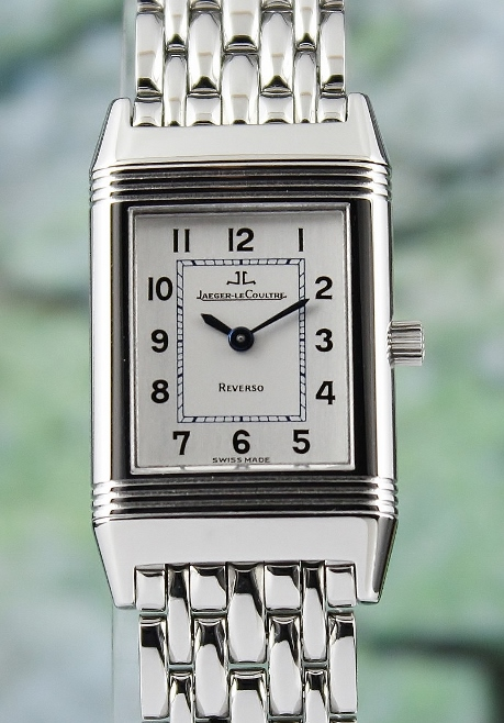 LIKE NEW Jaeger-LeCoultre Lady Manual Winding Stainless Steel Reverso / 260.8.86