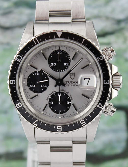 LIKE NEW VINTAGE ROLEX TUDOR OYSTER DATE CHRONOGRAPH / BIG BLOCK / 79170